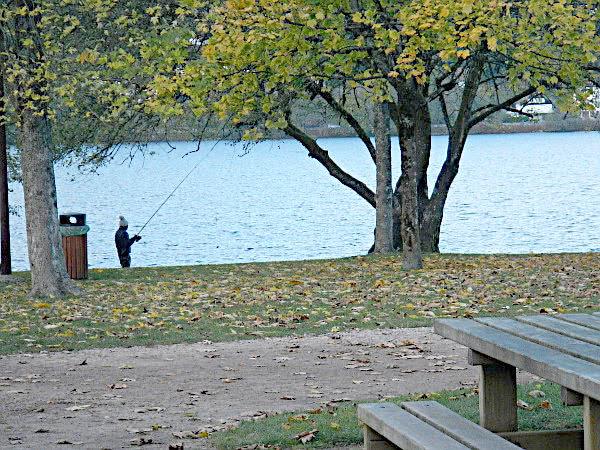 Angler am Lac de Gerardmer