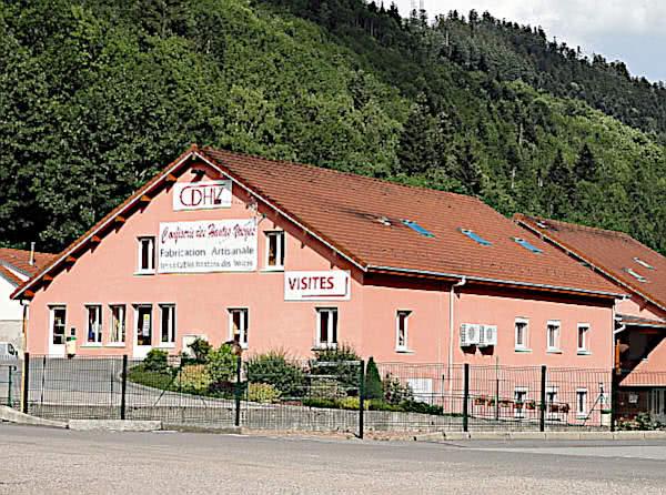 CDHV. Confiserie des Hautes Vosges, Habeaurupt.