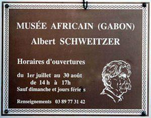 Das Afrikamuseum Albert Schweitzer