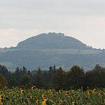 Der Hohenstaufen ist kein erloschener Vulkan, sondern ein Zeugenberg der zurückgewichenen Schwäbischen Alb.