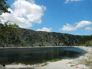 Drei-Seen-Tour: Am Lac Blanc.