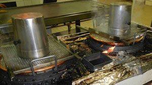 Heating the sugar. CDHV.