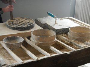 Herstellung eines Stempels