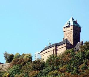 Hochkönigsburg Gesamtansicht