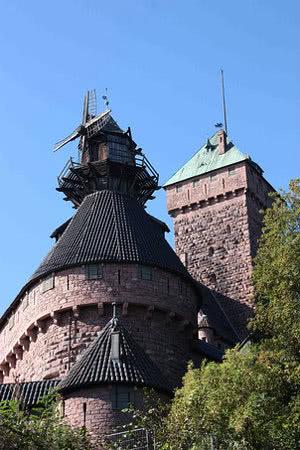 Hochkönigsburg Windmühle