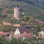 Tipp fuer Elsass-Lothringen: Stauferburg oberhalb von Kaysersberg