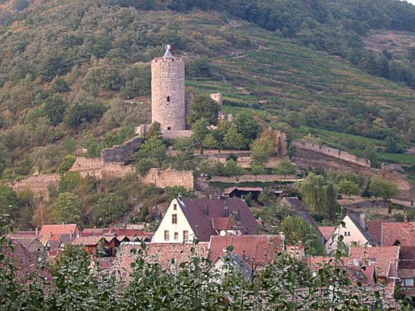 Stauferburg oberhalb von Kaysersberg