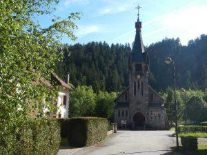 Kirche von Kichompré bei Gerardmer.