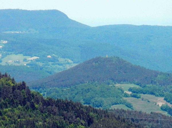 Der Aussichts-Turm Faude.