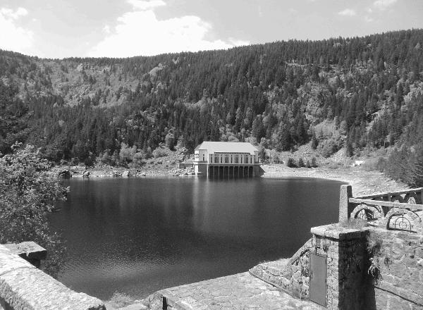 Lac Noir mit Pumpspeicherwerk