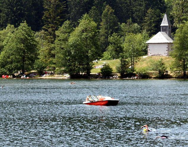 Lac de Longemer. La chapelle Saint Florent.