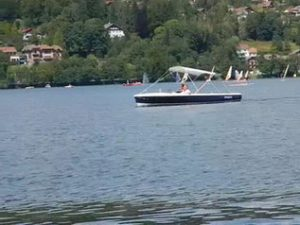 Pleasure boat. Gerardmer.