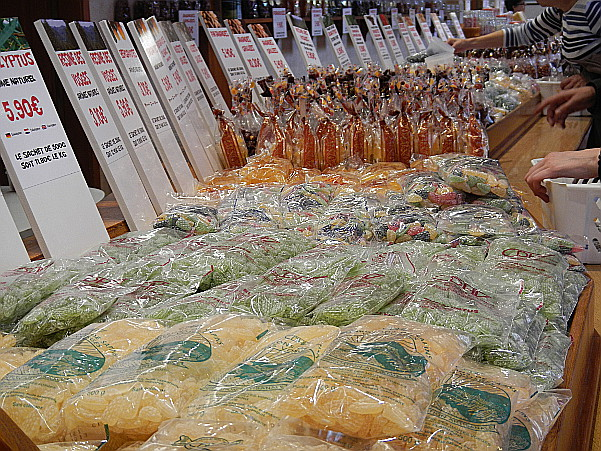 Sale of sweets in various forms. CDHV.