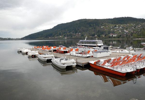 Tretboote am Lac de Gerardmer
