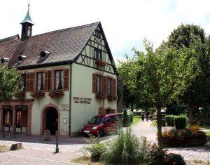 Albert-Schweitzer-Museum in Kaysersberg. Aussenansicht.