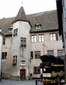 Das Schloss der Grafen von Württemberg-Mömpelgard
