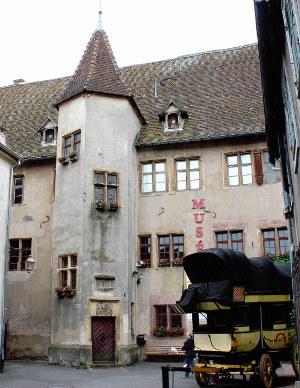 Das Schloss der Grafen von Wuerttemberg-Moempelgard