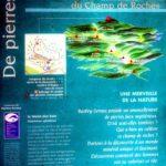Felsenfeld Champ de roches Erklärungstafel