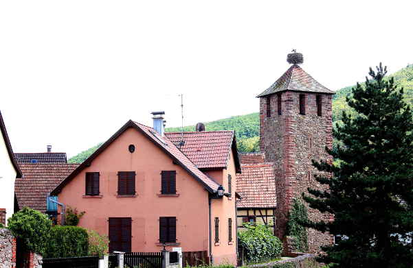 Hospitalturm von Kaysersberg