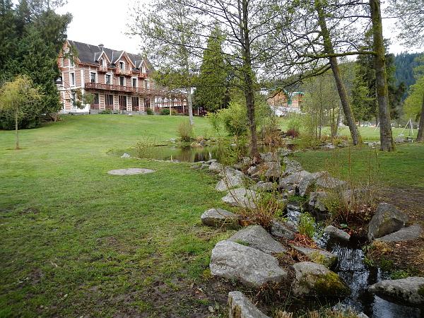 Monplaisir, une villa de grand bourgeois au lac de Gerardmer.
