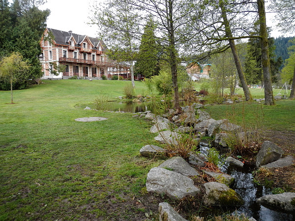 Die Villa Monplaisir am Lac de Gerardmer.